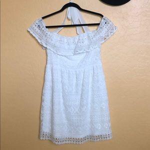 Lulumari White lace dress